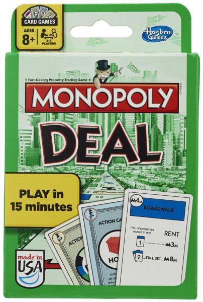 Hasbro Monopoly Deal Card Game Classic US Edition