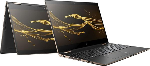 """HP Spectre x360 - 13-ae014dx (2LU97UA) Core i7-8550U/ 16GB / 512GB SSD / 13.3""""/ FHD/ Touch Screen/ Win 10/ Eng/ Silver."""
