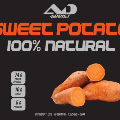 SWEET POTATO POWDER – Addict Sport Nutrition – 2kg
