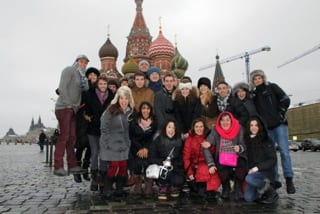 STUDY ABROAD PHOTO1 - LMU Undergraduates Gain Valuable Acting Training at Moscow Art Theatre
