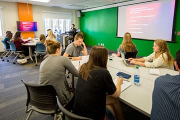 Photo Foley tech classroom  - New CFA Space Supports Innovative Learning