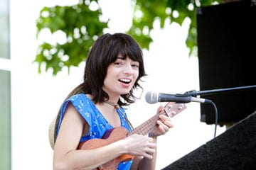photo Kate Micucci profile - Entertainer Kate Micucci '03 Stays Close to Her Alma Mater