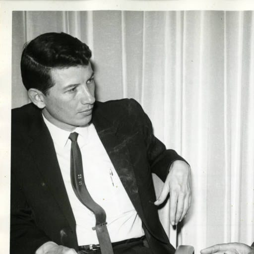 Warren Sherlock circa 1960s. Photo from the Department of Archives and Special Collections, William H. Hannon Library, Loyola Marymount University