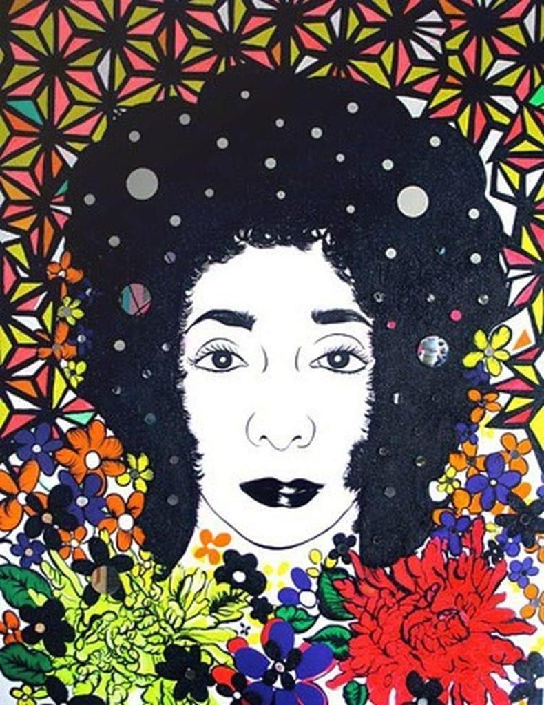 Castano Tropical Baby Self portrait - Laband Art Gallery Presents Carolyn Castaño Solo Survey Exhibition