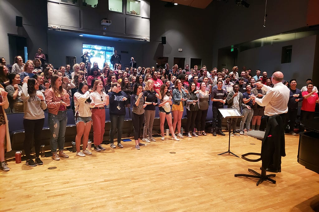 C4 2018 1 - LMU Music Hosts C4 California Catholic Collegiate Choral Festival