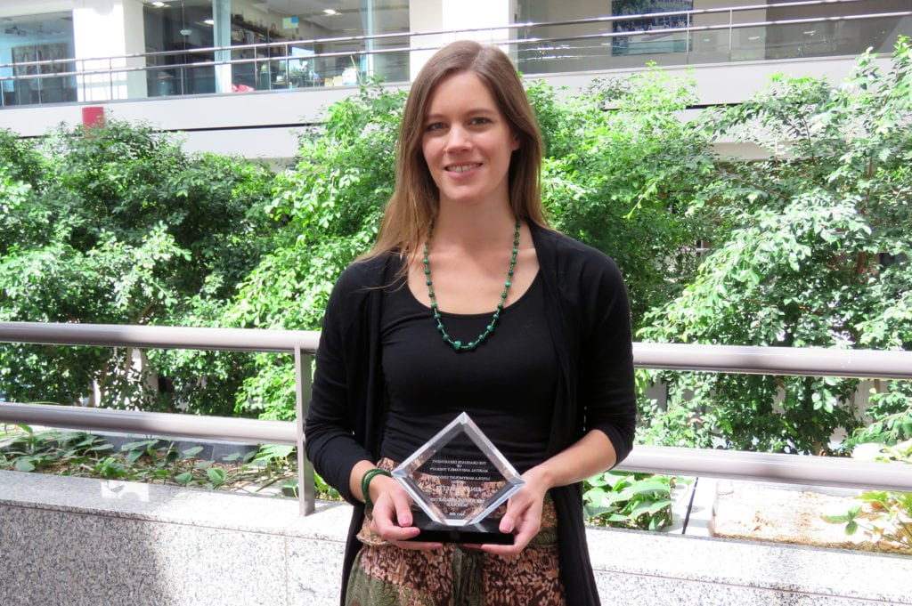Allison Marx HBL Scholar Award Winner - 2019 Helen B. Landgarten Scholar is Announced