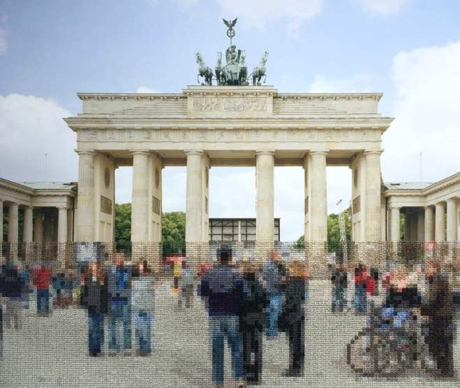 """07 Brandenburg Gate scaled - """"Berlin"""" Exhibition by Professor Diane Meyer Weighs History and Memory"""