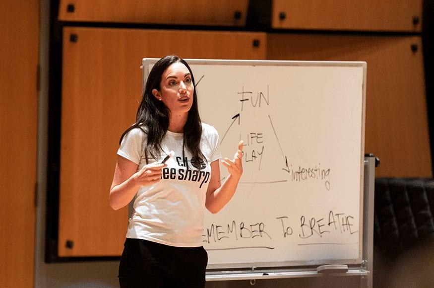 Campaner5 - World-Class Pianist Gloria Campaner Visits Campus