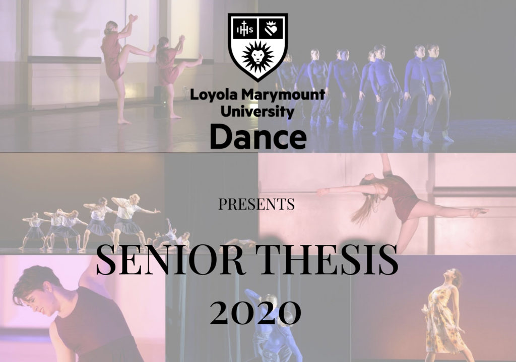 Senior Thesis Presentations Dance scaled - Senior Dance Majors Shine in Online Capstone Thesis Presentations