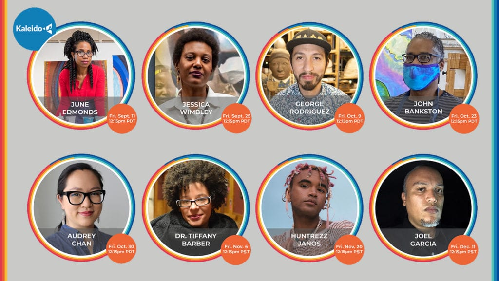 kaleidola e poster final scaled - Fall's KaleidoLA Speaker Series Explores Personal Narratives Featuring All Artists of Color