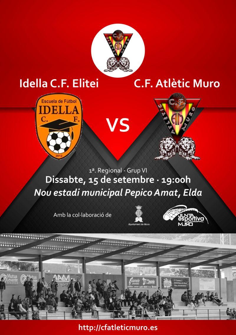 You are currently viewing Primer partit de lliga per al masculí davant l'Idella C.F.