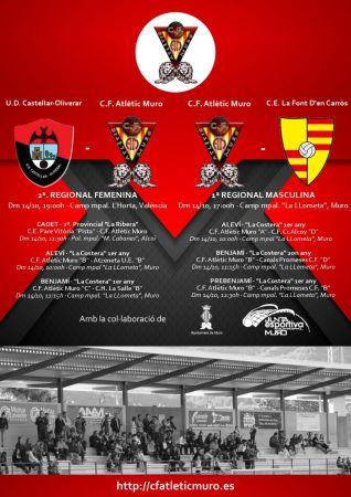 Read more about the article Partits davant l'U.D. Castellar-Oliveral i el C.E. La Font D'en Carròs