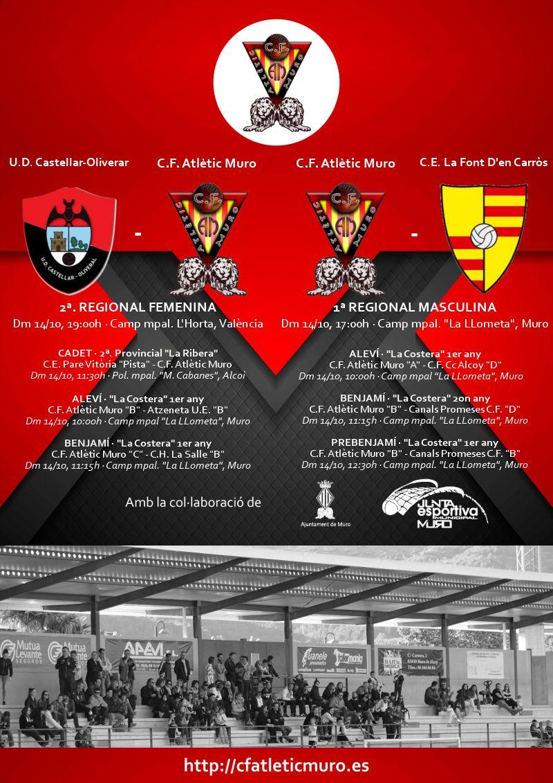 You are currently viewing Partits davant l'U.D. Castellar-Oliveral i el C.E. La Font D'en Carròs