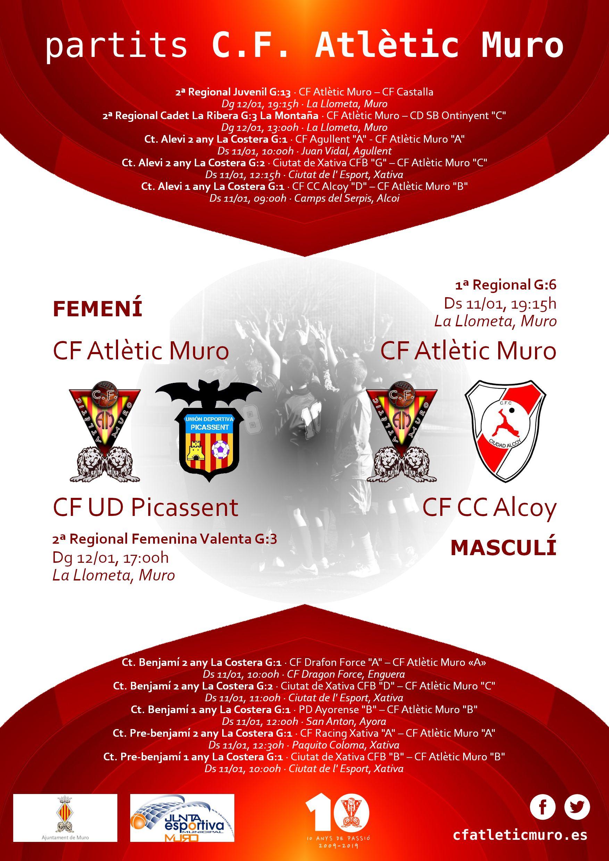 You are currently viewing Partits davant el CF UD Picassent i el CF CC Alcoy