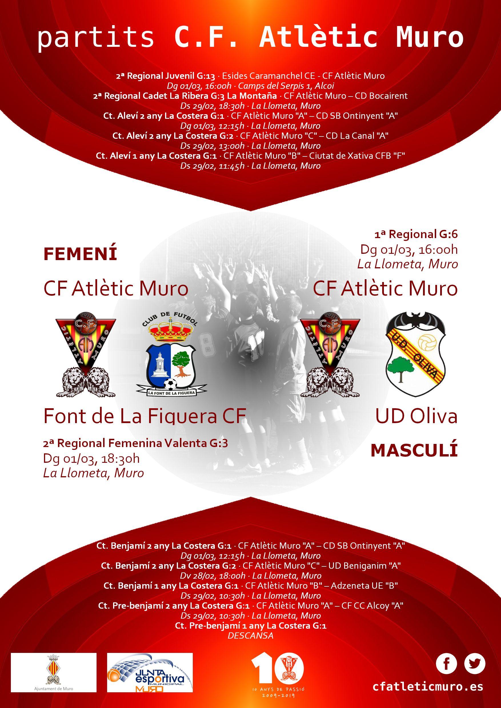 You are currently viewing Partits davant la Font de La Figuera CF i l'UD Oliva