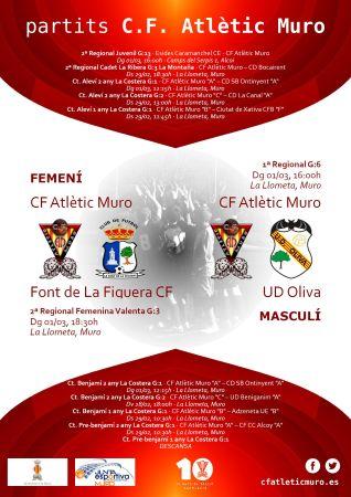 Read more about the article Partits davant la Font de La Figuera CF i l'UD Oliva