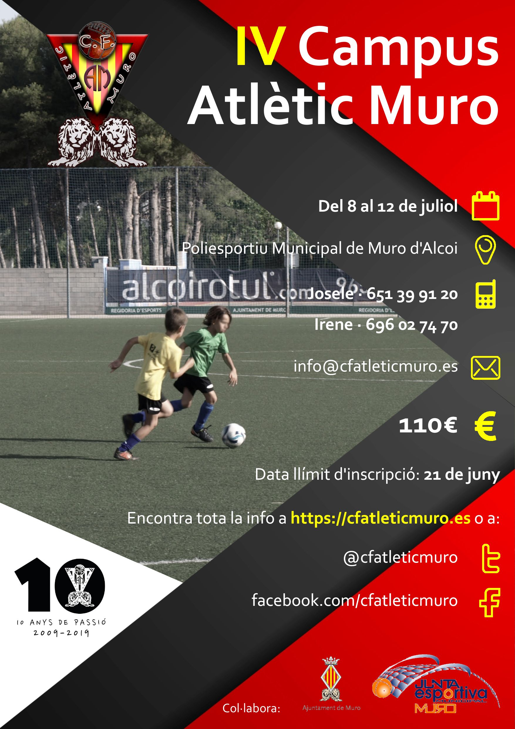 You are currently viewing IV Campus CF Atlètic Muro (2019)