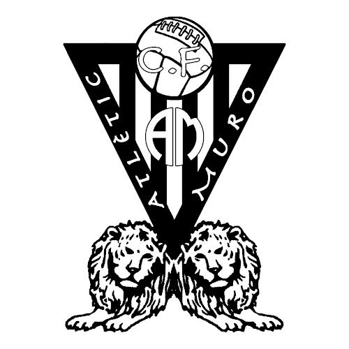 Logo Atlètic Muro C.F. Negre