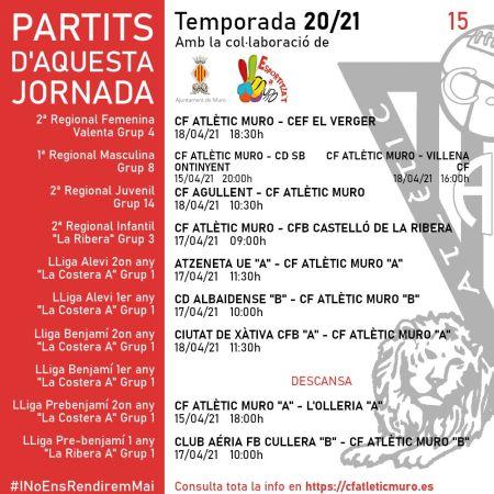 Read more about the article Partits davant el CEF El Verger, el CD SB Ontinyent i el Villena CF