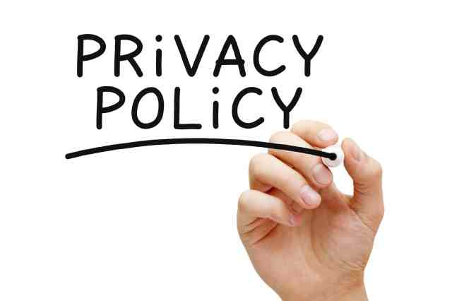 Legal Policies and Statements, Privacy Policies