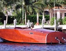 Custom Wood Boat, 24' Runabout