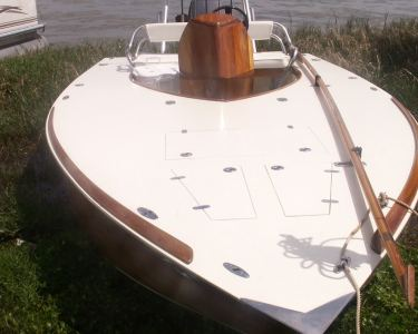 16.5' Flats Fishing Boat