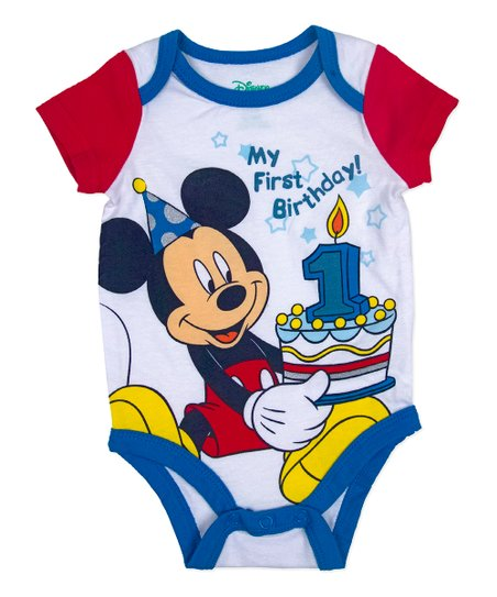 Mickey First Birthday Shirt Shop Clothing Shoes Online