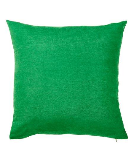 apolena kelly green throw pillow cover