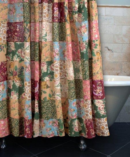 greenland home fashions alberta cabin shower curtain