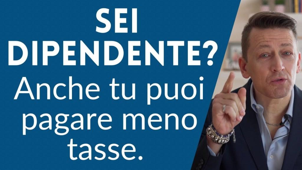 Ti ha mai detto nessuno che anche da dipendente potresti minimizzare l'obolo che lasci al fisco italiano su alcune questioni?