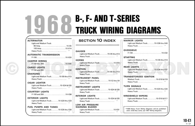 1968 f100 wiring diagram  1994 toyota camry fuel filter