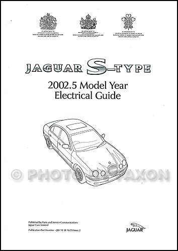2002 jaguar stype electrical guide wiring diagram