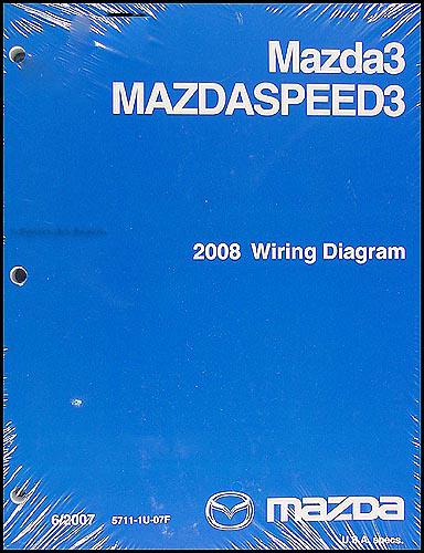 2008 mazda 3 wiring diagram original