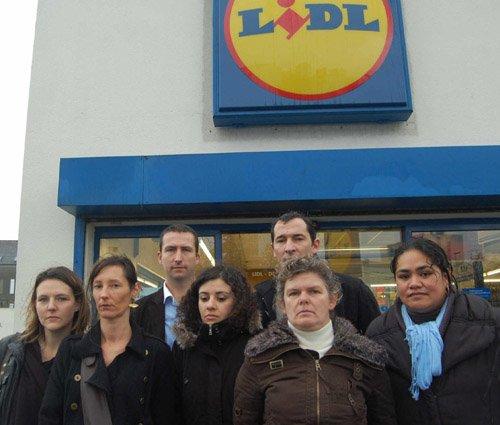 Débrayages chez Lidl. Les salariés réclament des moyens humains 653157lidlbrest