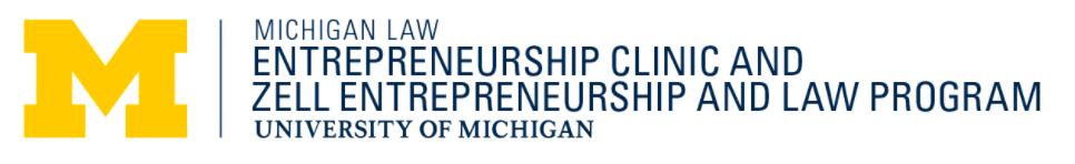Michigan Law Entrepreneurship Clinic