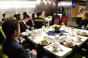 ELP 2016 Kickoff dinner, Dean Munson addressing the cohort