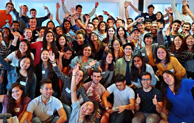 Group photo of Kleiner Perkins Interns 2019