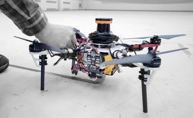 MIT researchers describe an autonomous system for a fleet of drones to collaboratively search under dense forest canopies using only onboard computation and wireless communication — no GPS required. Courtesy: Melanie Gonick, MIT
