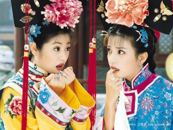 Zhao Wei and Ruby Lin in Huan Zhu Ge Ge