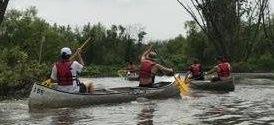 Canoe Rescue Gaeauga County Maple Leaf