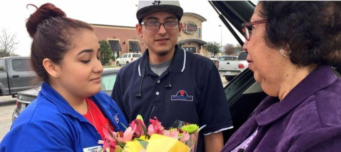 Couple Helps Elderly Woman KABB San Antonio
