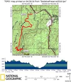 Eastatoe - Our route