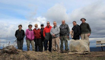 Sassafras Mountain Group Pic