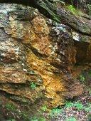 Rocks along the trail