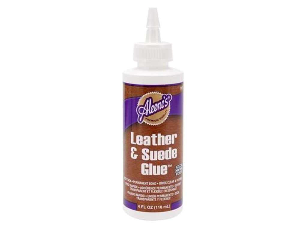 Aleene S Leather And Suede Glue 4 Oz