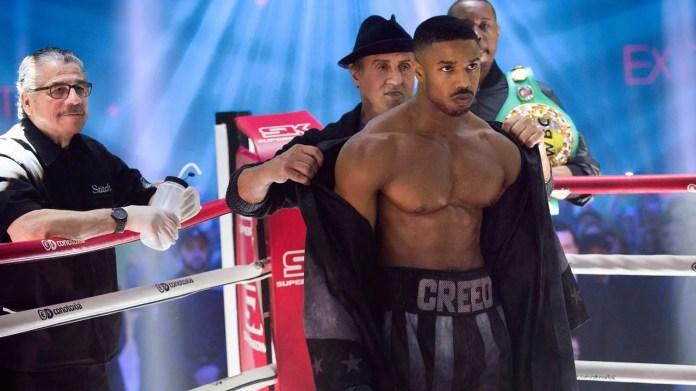 Rocky y Drago, añorando el ring en el filme «Creed II»