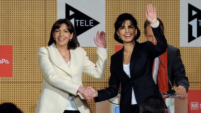 Anne Hidalgo y Rachida Dati