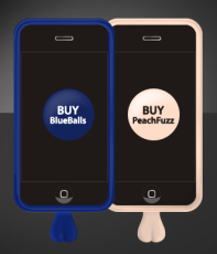 That's right testicles for your phone! Whether male or female, chances are you have been touched by a pair of balls in your life…. don't you want to touch em back?