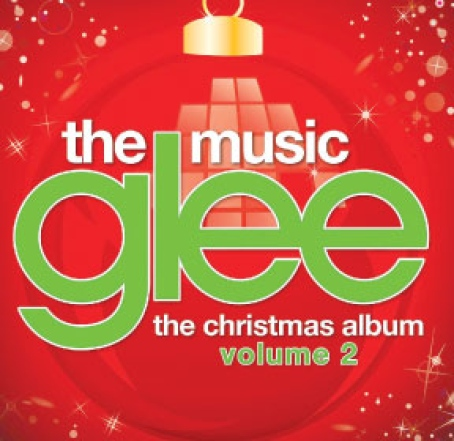 Glee Christmas Album Vol 2 Cover photo