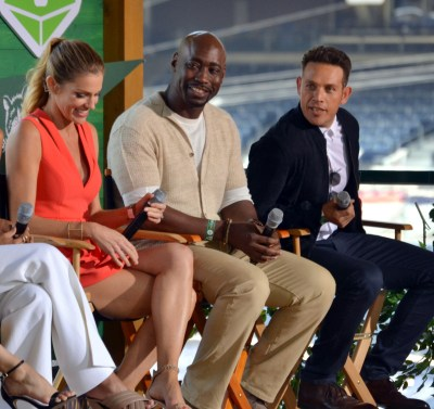 "Tricia Helfer, D.B. Woodside and Kevin Alejandro of ""Lucifer"""